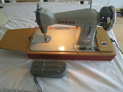 Jones Sewing Machine Heavy Duty Model CBD Vintage