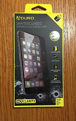 new style 8dfae 2737c ADURO SHATTERGUARDZ TEMPERED Glass Screen Protector for iPhone 6 / 7 ...