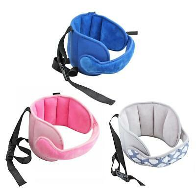 Baby Head Fixed Sleeping Pillow Kids Seat Head Supports Neck Safety Pad Headrest