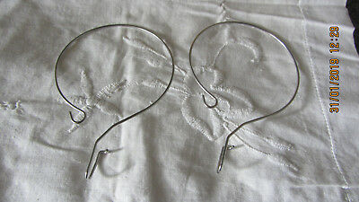 Brother Electronic Knitting Machines  2 Wire Loop Mylar Sheet Guide Holders