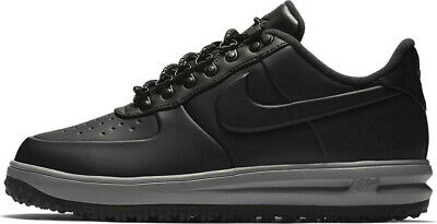 143b6cdc9b8a9 NIKE LUNAR FORCE 1 Duckboot Low NEW Men's Boots Triple Black AA1125 ...