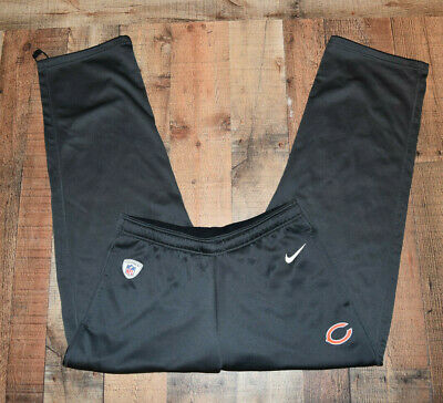 1ee9adf2 NFL CHICAGO BEARS NIKE DRI FIT TRAINING PANTS Men's Size XL Therma Fit Feel  EUC
