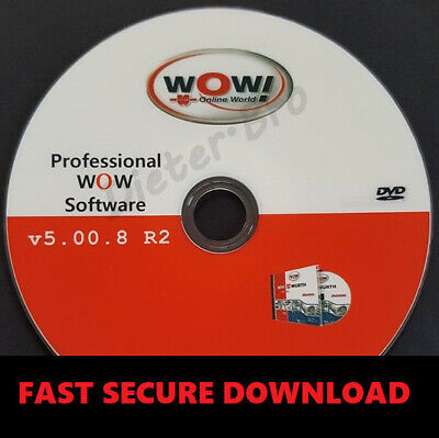 LATEST VERSION✔Wurth WOW 5.008 Diagnostic Garage Software✔Download✔