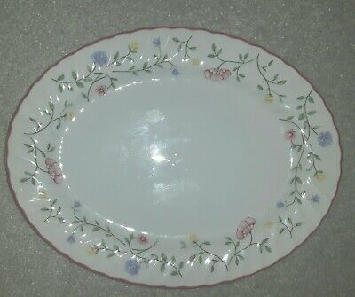 Johnson Bros Summer Chintz Pattern Large Oval Serving Plate Plater