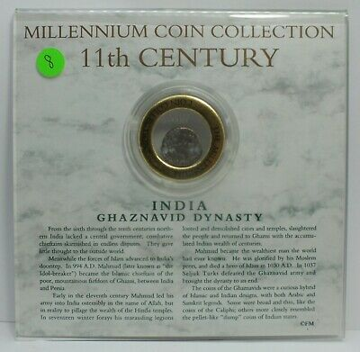 Millennium Coin Collection India Ghaznavid Dynasty 11th Century Coin JG109