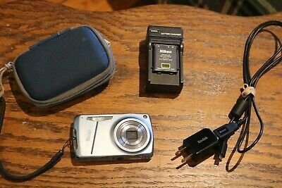 Kodak EasyShare M575 14.0 MP Digital Camera 5x zoom,case,battery,charger,cord