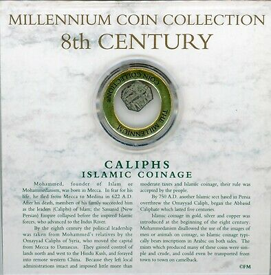 Millennium Coin Collection Caliphs Islamic Coinage 8th Century Coin JG111