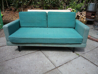 Vintage 1950s Day Bed / Sofa Bed