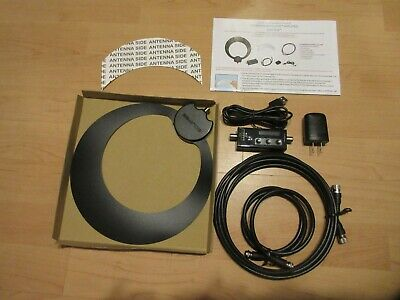 Antennas Direct ClearStream Eclipse Sure Grip Amplified Indoor HDTV Antenna