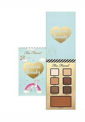 TOO FACED Natural Beauty  Eyeshadow & Bronzer Palette Brand New, No Box