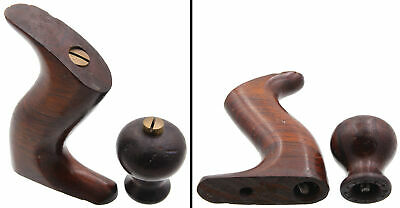 Early Brazilian Rosewood Handles for Stanley No. 10 1/2 Plane - mjdtoolparts