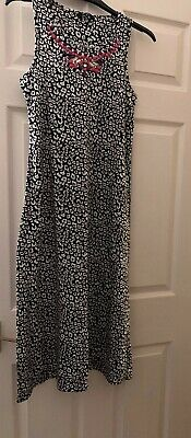 Girls Dress By George At Asda Girls Maxi Animal Print Age 11-12 Yrs