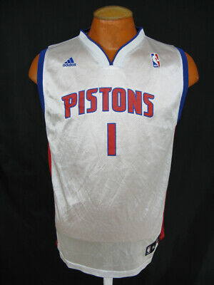0c91ef19da5 Allen Iverson Detroit Pistons NBA Basketball Jersey Boys Youth XL 18-20