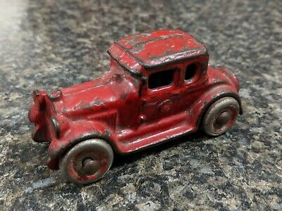 Antique AC Williams Cast Iron Ford Coupe Toy Car