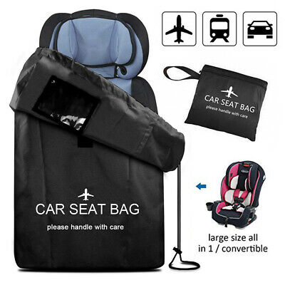 Child Baby Kids Car Seat Storage Bag Travel Pouch Protection Gate Check
