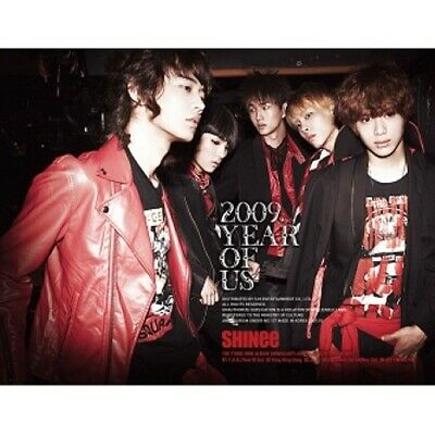 Shinee - [2009 Year Of Us] 3rd Mini Album CD+Booklet+Gift K-POP Sealed Boy Band