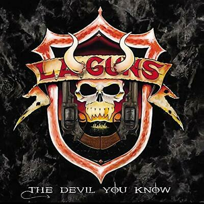 L.A. GUNS-THE DEVIL YOU KNOW-JAPAN CD F83 Japan