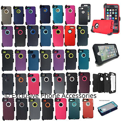 For Apple iPhone 6/6S Plus Case Cover{Belt Clip Holster fits Otterbox Defender}