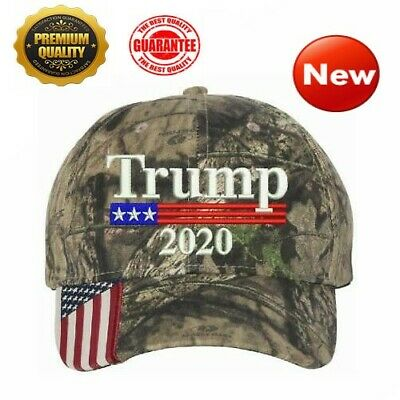 Donald Trump Cap Keep America Great Maga hat President 2020 Flag Mossy - US NEW