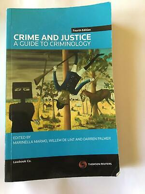 Crime and Justice : A Guide to Criminology 4th Edition Textbook - 2012 - GC