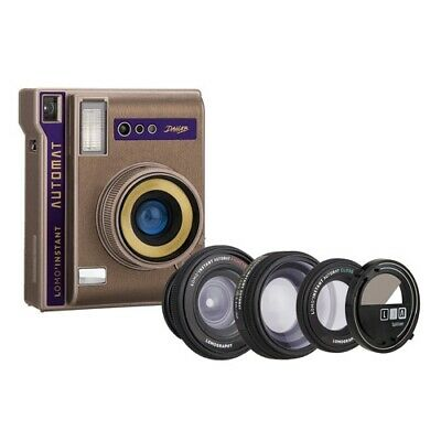 Lomography Instant Automat Camera with 3 Lenses & Splitzer - Dahab Edition [Lomo