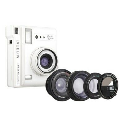 Lomography Instant Automat Camera with 3 Lenses & Splitzer - Bora Bora [Lomograp