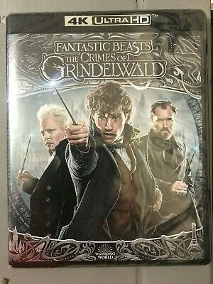 Fantastic Beast: The Crimes of Grindelwald 4K UHD Blu-Ray WITH Slipcover