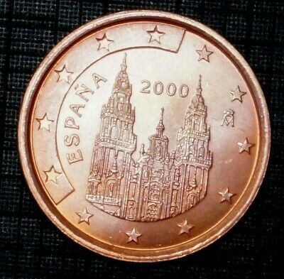 10th Anniversary of the Euro 5 cents 2000-M SPAIN (84K)