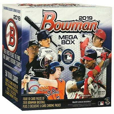 2019 Bowman Chrome Mega Box Mojo Refractor Inserts Complete a Set - Pick a card