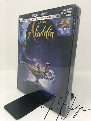 Aladdin [SteelBook] [2019] [Live] (4K Ultra HD + Blu-ray + Digital)
