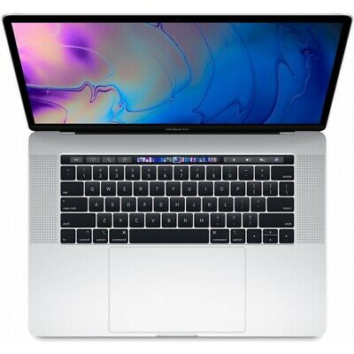 Apple15pouces MacBook Pro 2019 9th i9 processor 16Go Ram 512Go SSD-Argent(Neuf)