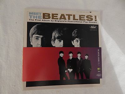 """The Beatles """"The Capitol Albums, Vol. 1"""" PROMO CARD SET!! NEW! BEYOND RARE!!"""
