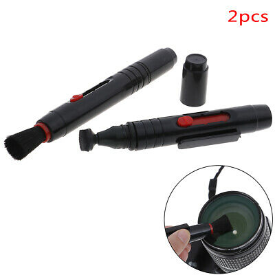 2pcs Camera Lens Cleaning Pen Portable Dust Cleaner Brush Lens dust Cleaning VU
