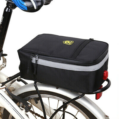 LED Universal Impermeable Ciclismo Bicicletas Bolsas Fundas Alforjas Saddle Bag