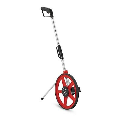 Large Builders Surveyors 10Km Distance Metric Measuring Wheel With Kick Stand