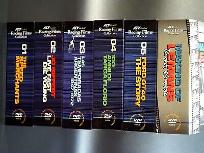 FLY Racing Films Collection, All 6 sets, include rare 'Making Le Mans',BRAND NEW