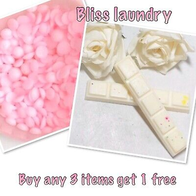 lenor Bliss Wax Melts-Laundry Designer Scents-snap bar-highly scented- Soy Melt