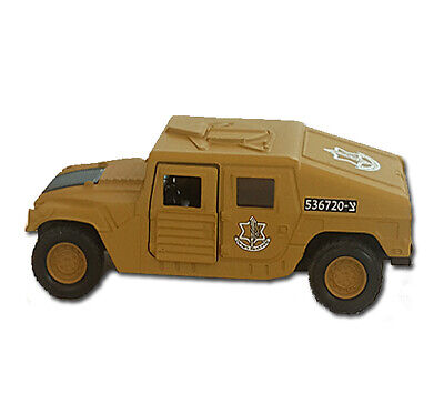 Israeli Army HMMWV ARMOR SQUAD Carrier DieCast Toy Vehicle 1:38 Replica