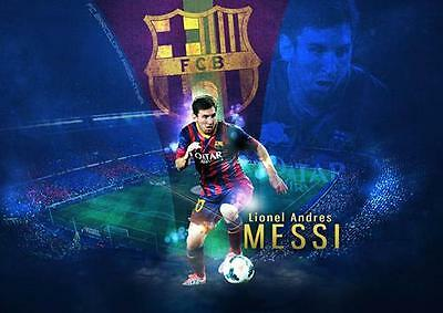 LIONEL MESSI BARCELONA BARCA GIANT WALL ART XL PRINT PHOTO POSTER