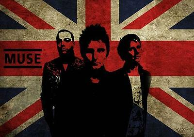 MUSE UNION JACK POSTER Wall Art Photo Print Poster A3 A4