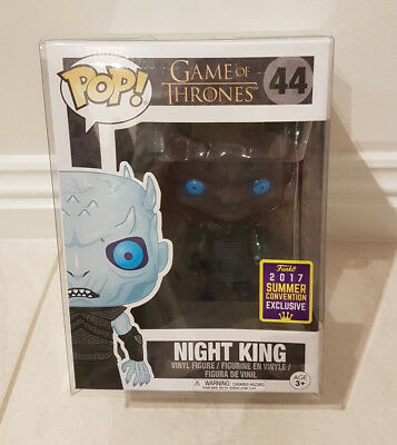 GAME OF THRONES NIGHT KING SDCC EXCLUSIVE Funko Pop Vinyl Figure *MINT/NEW* RARE