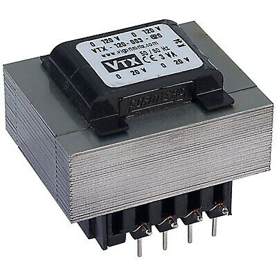 Vigortronix VTX-120-003-620 PCB Open Mains Transformer 3VA 0-20V