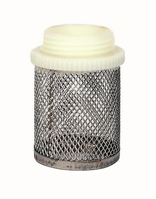 "Filter Stainless Steel Mesh Strainer.  Male BSP Thread.  1/2"" To 4"""