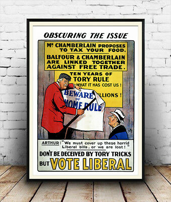 Cost of Living Liberals vintage political information  poster reproduction.