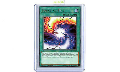 Fusion of Fire SAST-EN057 Rare 1st Edition YuGiOh Card New