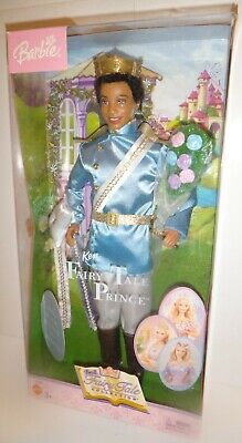 2003 Barbie FAIRY TALE COLLECTION PRINCE Ken Doll AA NEW NRFB