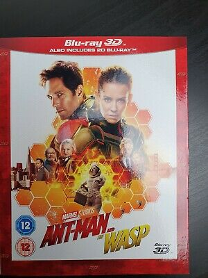 Ant-Man and the Wasp (3D Edition with 2D Edition) [Blu-ray]
