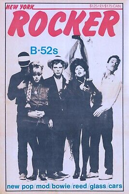 THE B-52's V2 VINTAGE BEST BAND ROCK ALTERNATIVE CONCERT MUSIC POSTERS A4 300gsm