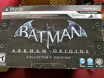 NEW BATMAN ARKHAM Origins Limited Collector's Edition Game