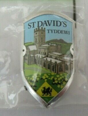 Walking Stick Badge / Mount / Stocknagel Sampsons St David's Tyddewi